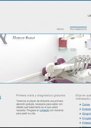 Clínica Dental Febrero web